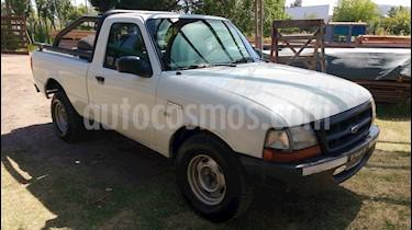 Foto venta Auto Usado Ford Ranger XLT 2.5L 4x2 CD (2001) color Blanco precio $169.900