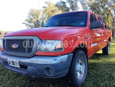 Foto venta Auto usado Ford Ranger XLT 3.0L 4x4 TDi CD (2006) color Rojo precio $190.000
