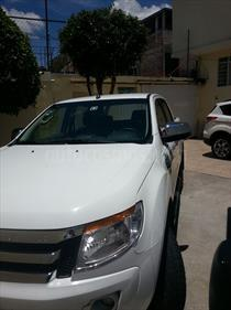 Foto venta Auto usado Ford Ranger XLT 4x2 Cabina Doble (2015) color Blanco Oxford precio $300,000