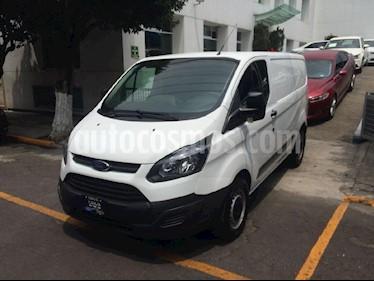 Foto venta Auto Seminuevo Ford Transit Custom VAN Corta Aa Doble Puerta Lateral (2016) color Blanco precio $399,900