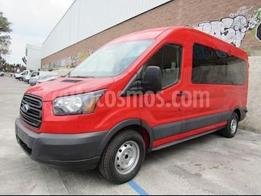 Foto venta Auto usado Ford Transit Transit-350 Pasajeros Larga (2017) color Rojo precio $685,000
