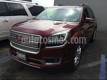 Foto venta Auto Seminuevo GMC Acadia Denali (2015) color Rojo precio $450,000