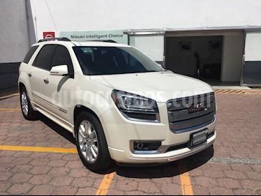 Foto venta Auto Seminuevo GMC Acadia Denali (2015) color Blanco precio $395,000