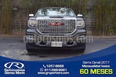 Foto venta Auto Seminuevo GMC Sierra Denali (2017) color Gris Mineral precio $950,000