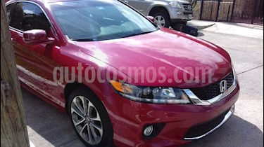 Foto venta Auto usado Honda Accord Coupe EX 3.5L (2014) color Rojo precio $280,000