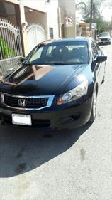 Foto venta Auto usado Honda Accord EX 2.4L (2008) color Negro precio $100,000