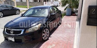 Foto venta Auto usado Honda Accord EX 2.4L (2009) color Negro precio $130,000