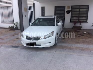 Foto venta Auto usado Honda Accord EX 2.4L (2009) color Blanco precio $125,000