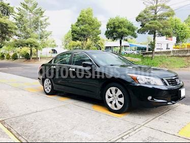 Foto venta Auto Usado Honda Accord EX-L 3.5L V6 (2009) color Negro precio $142,000