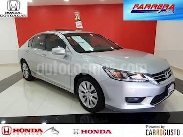 Foto venta Auto Seminuevo Honda Accord EXL Navi (2014) color Plata Diamante precio $230,000