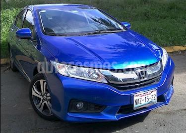 Foto venta Auto Usado Honda City EX 1.5L Aut (2017) color Azul precio $247,000