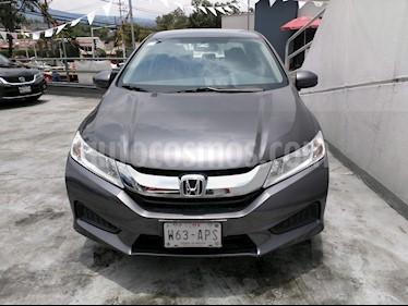 Foto venta Auto Usado Honda City EX 1.5L Aut (2017) color Grafito precio $220,000