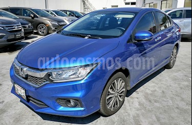 Foto venta Auto Usado Honda City EX 1.5L Aut (2018) color Azul precio $252,000