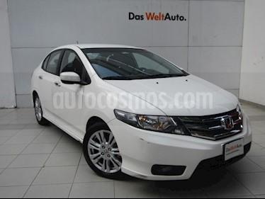 Foto venta Auto Usado Honda City EX 1.5L Aut (2012) color Blanco precio $129,000