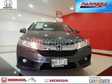 Foto venta Auto Seminuevo Honda City EX 1.5L Aut (2017) color Acero precio $238,000
