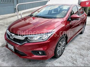 Foto venta Auto Seminuevo Honda City EX 1.5L Aut (2018) color Rojo precio $260,000