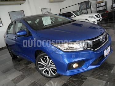 Foto venta Auto Seminuevo Honda City EX 1.5L Aut (2018) color Azul Imperial precio $276,000