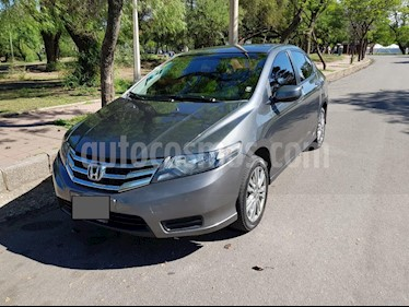 Foto venta Auto Usado Honda City LX (2012) color Gris Oscuro precio $275.000