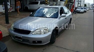 Foto venta Auto Usado Honda Civic 1.6 LX  (2000) color Gris precio $112.000