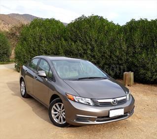 Honda Civic  1.8 EXL Aut  usado (2013) color Cafe precio $8.200.000