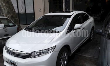 Foto venta Auto Usado Honda Civic 1.8 EXS AT Sedan (140cv) (L12) (2013) color Blanco precio $395.000