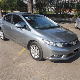 Foto venta Auto Usado Honda Civic 1.8 EXS Aut (2012) color Plata Alabastro precio $300.000
