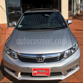 Foto venta Auto Usado Honda Civic 1.8 EXS MT Sedan (140cv) (L12) (2014) color Gris precio $379.000