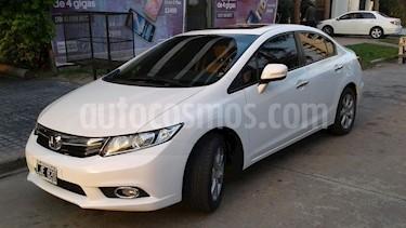 Foto venta Auto Usado Honda Civic 1.8 EXS (2012) color Blanco Tafetta precio $345.000