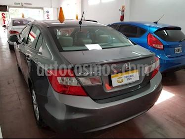 Foto venta Auto usado Honda Civic 1.8 LXS (2013) color Gris Oscuro precio $390.000