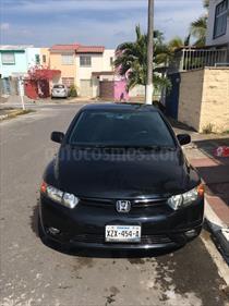 Foto venta Auto usado Honda Civic Coupe EX 1.8L (2007) color Negro precio $106,500