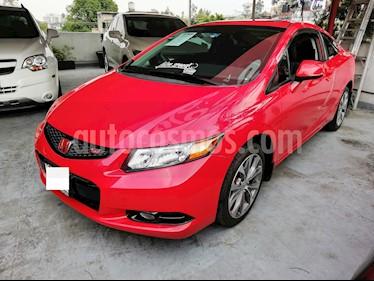 Foto venta Auto Seminuevo Honda Civic Coupe EX 1.8L (2012) color Rojo Rally precio $220,000