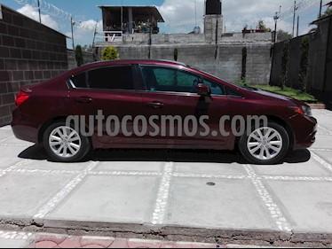 Foto venta Auto usado Honda Civic EX 1.8L Aut (2012) color Rojo Granada precio $154,000