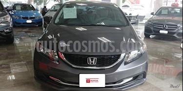 Foto venta Auto Usado Honda Civic EX 1.8L Aut (2014) color Gris precio $225,000
