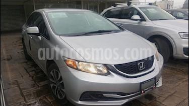 Foto venta Auto Usado Honda Civic EX 1.8L Aut (2014) color Plata precio $205,000
