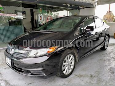 Foto venta Auto Seminuevo Honda Civic EX 1.8L Aut (2012) color Negro precio $155,000