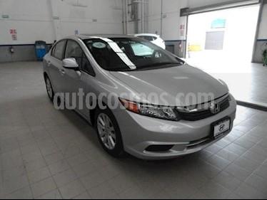 Foto venta Auto Seminuevo Honda Civic EX 1.8L Aut (2012) color Plata precio $185,000