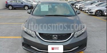 Foto venta Auto Seminuevo Honda Civic EX 1.8L Aut (2013) color Gris precio $199,000