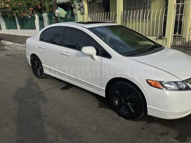 Foto venta Auto usado Honda Civic EX 1.8L (2007) color Blanco precio $90,000