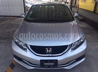 Foto venta Auto usado Honda Civic EX 1.8L (2014) color Plata Diamante precio $209,000