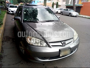 Foto venta Auto Seminuevo Honda Civic EX Aut (2004) color Gris precio $69,000