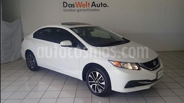 Foto venta Auto Usado Honda Civic EX (2015) color Blanco precio $214,900