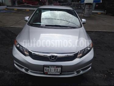 Foto venta Auto Seminuevo Honda Civic EX (2012) color Plata precio $155,000