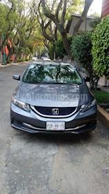 Foto venta Auto usado Honda Civic EXL 1.8L Aut NAVI (2014) color Gris precio $210,000
