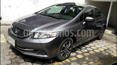 Foto venta Auto Seminuevo Honda Civic EXL 1.8L (2014) color Gris precio $215,000