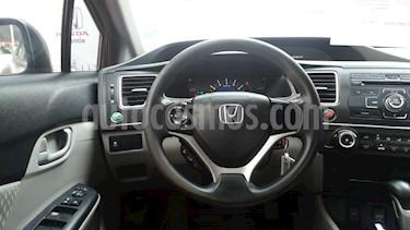 Foto venta Auto Usado Honda Civic LX 1.7L Aut (2014) color Acero precio $190,000