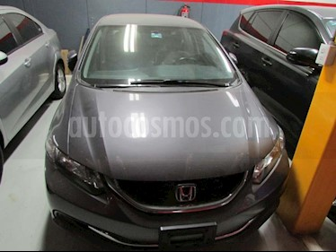 Foto venta Auto Usado Honda Civic LX 1.7L (2015) color Gris precio $225,000