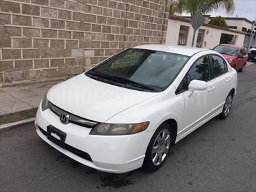 Foto venta Auto usado Honda Civic LX 1.8L Aut (2008) color Blanco precio $108,000
