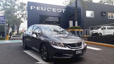 Foto venta Auto Usado Honda Civic LX 1.8L Aut (2013) color Gris precio $179,900