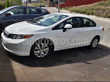 Foto venta Auto usado Honda Civic LX 1.8L Aut (2012) color Blanco Marfil precio $150,000