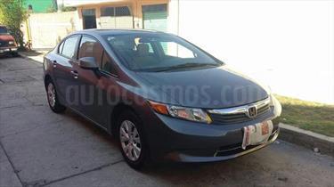 Foto venta Auto usado Honda Civic LX 1.8L (2012) color Gris Oxford precio $135,000